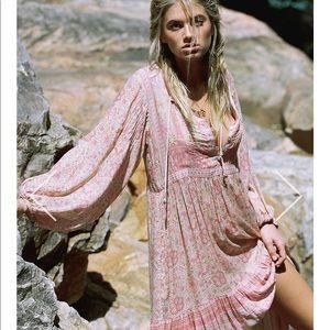 Spell Ponciana Candy Midi Dress